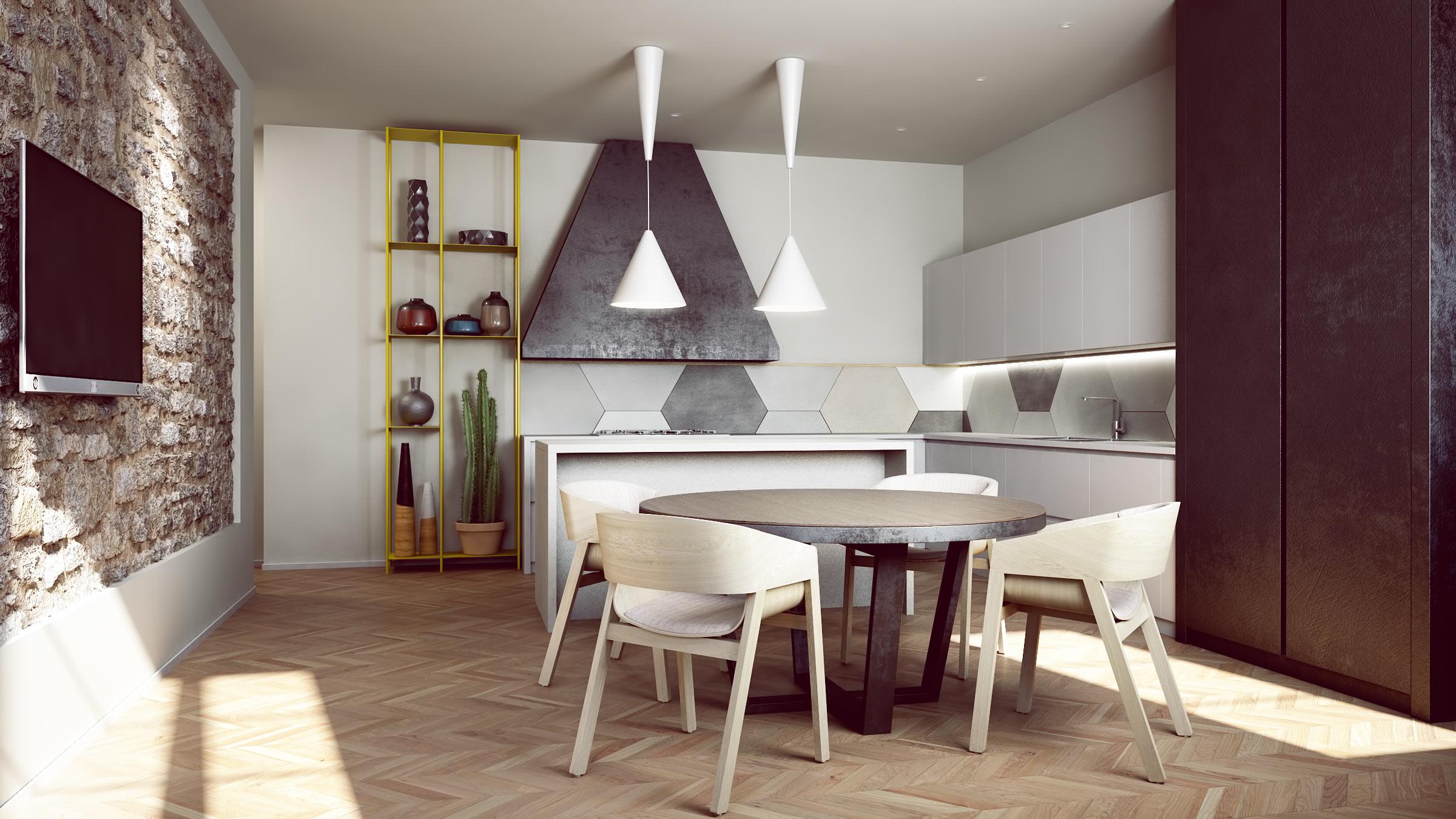 render-progetto-abitazione-privata-parquet-ferro-pietra-stone-